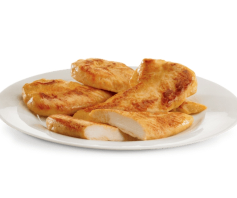 image of jack in the box keto low carb fast food Grilled Chicken Strips