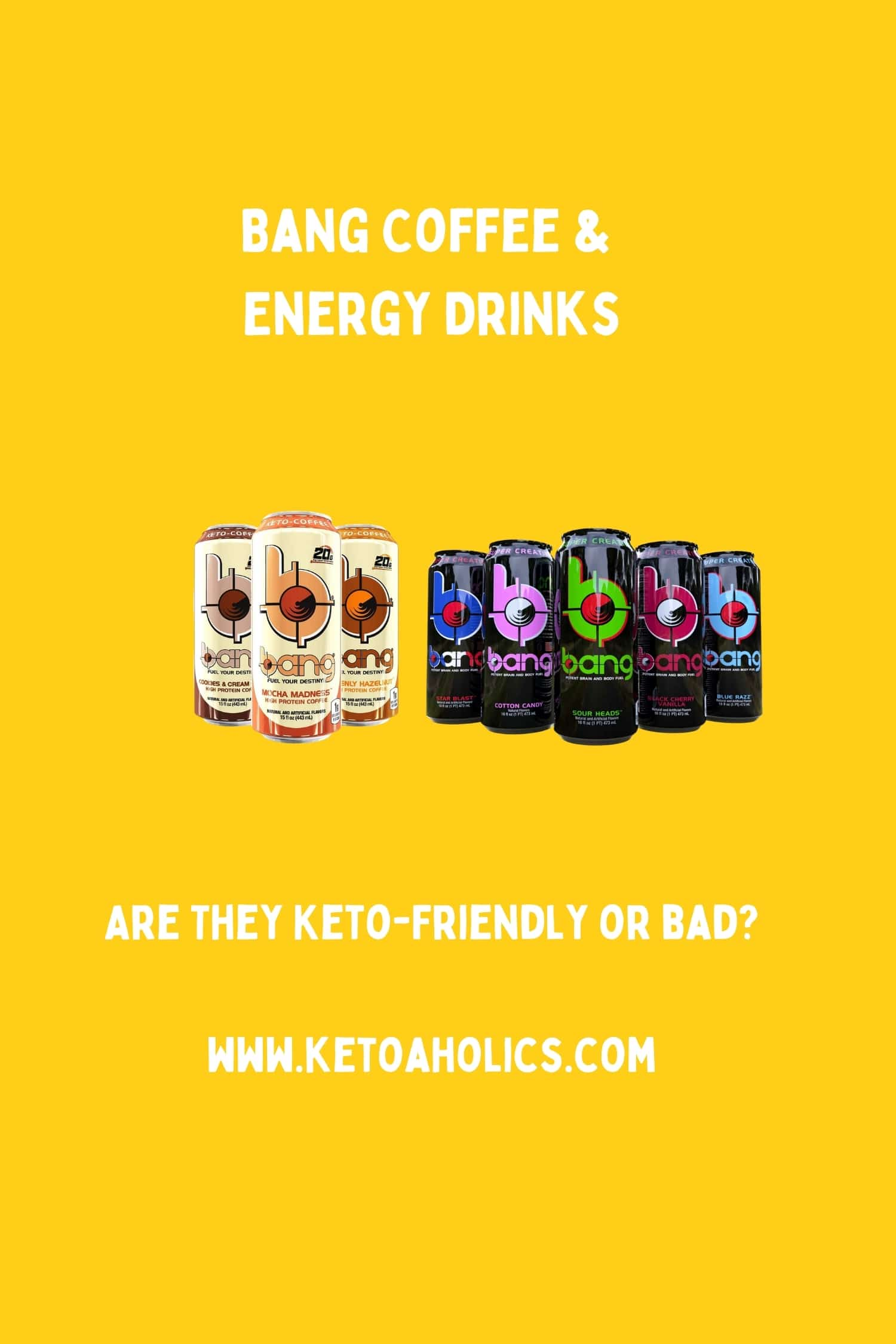 image of Bang Coffee & Energy Drinks Review Are They Keto-Friendly?