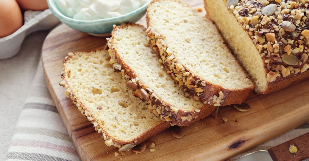 image of Making Low-carb Keto Recipes Bread by using arrowroot powder/arrowroot flour