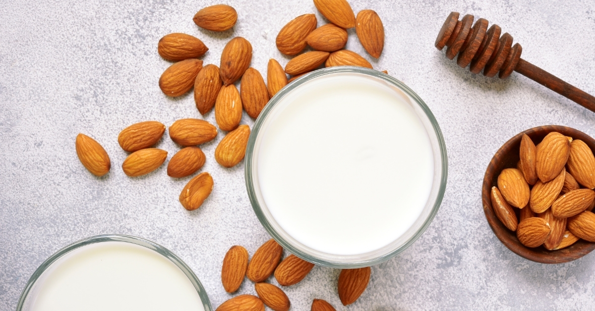 image of almond milk keto or just low carb - www.ketoaholics.com - www.ketoaholics.com