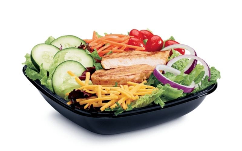 image of jack in the box low carb Grilled Chicken Salad