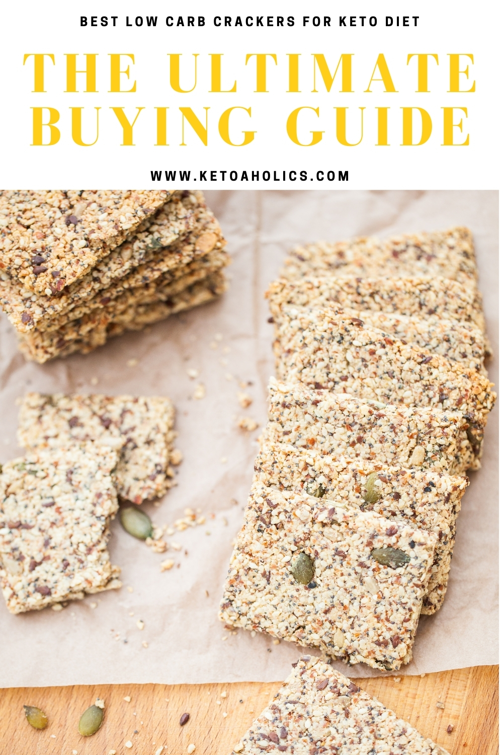 image of Best Low Carb Crackers for Keto Diet The Ultimate Buying Guide