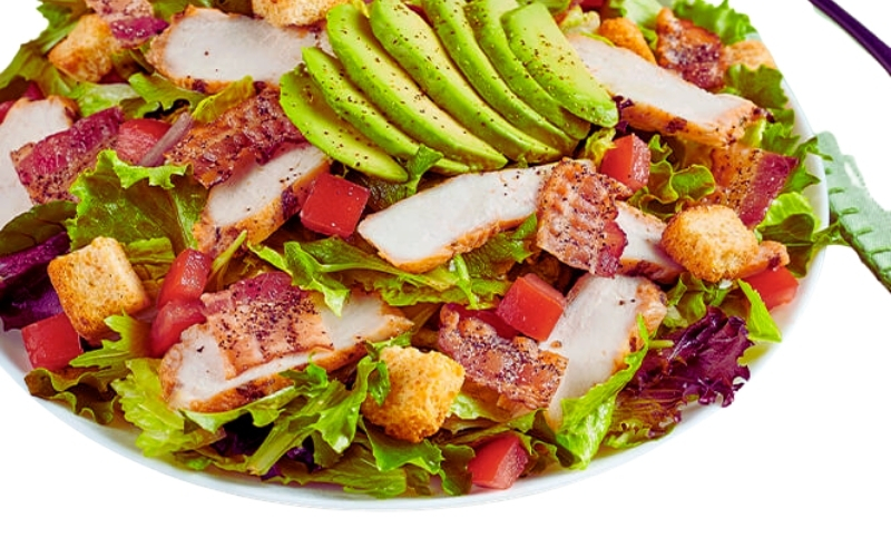 image of Chicken and Avocado BLT Salad at McAlister's Deli Keto