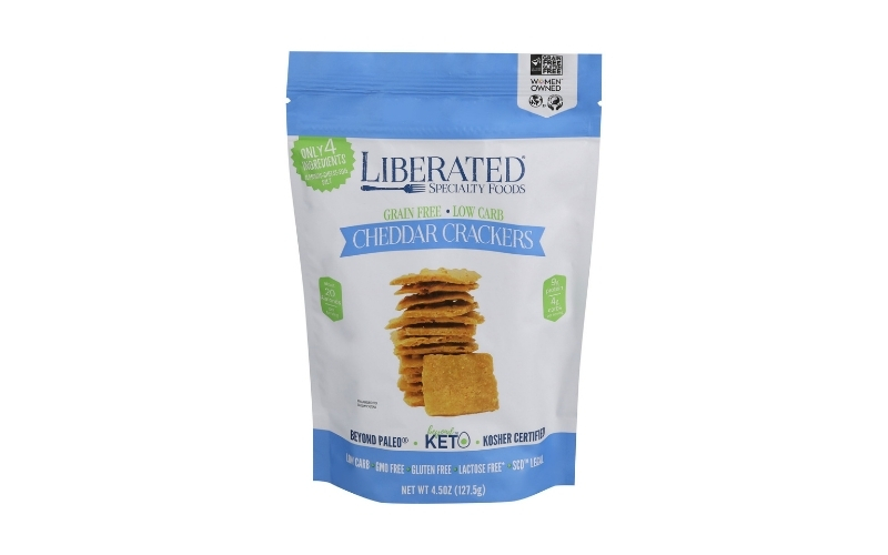 image of Liberty Specialty Foods - Cheddar Cheese Crackers
