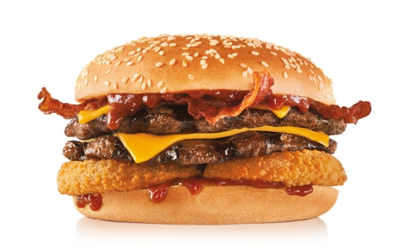 image of Low carb Hardee's Double Cheeseburger Keto Diet