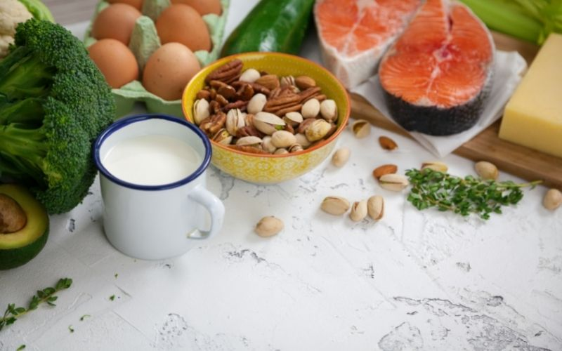 image of Milk and Keto Low-carb Diet