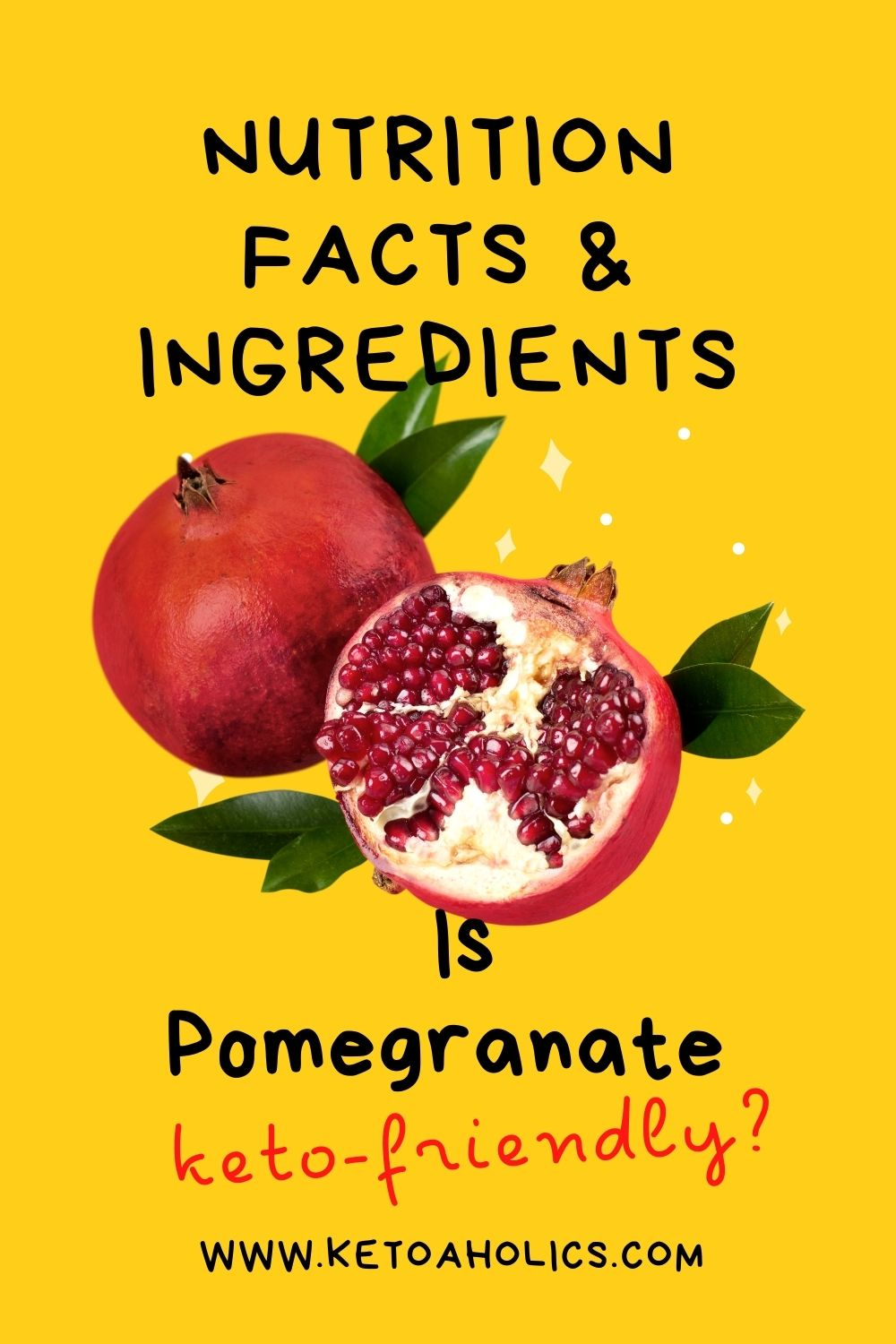 image of is Pomegranate keto friendly