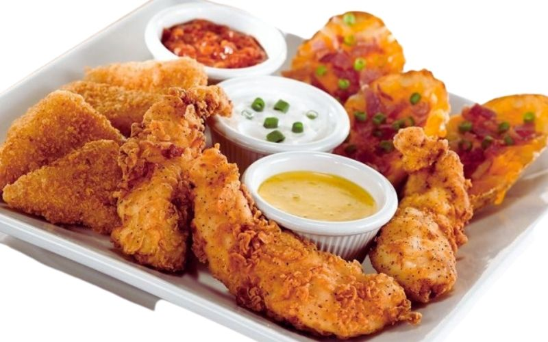 image of low carb keto friendly shareable starters at OCharleys