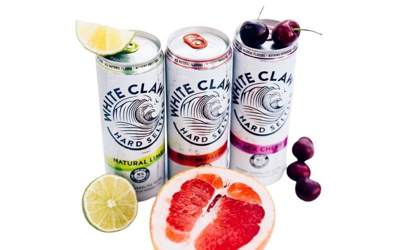 image of low carb white claw keto friendly