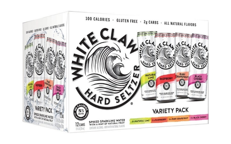 image of flavour white claw keto friendly