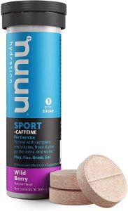 image of net carbs in Nuun low carb keto friendly