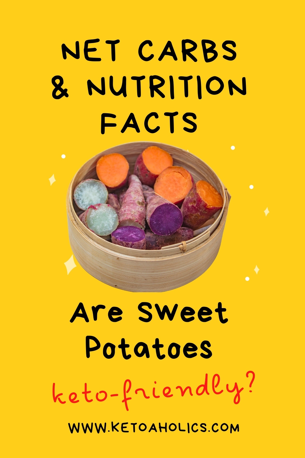 image of Are Sweet Potatoes Keto Friendly