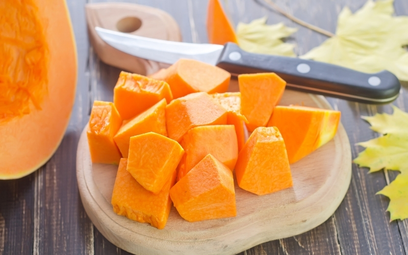 image of Is Pumpkin keto low carb or high in carbs