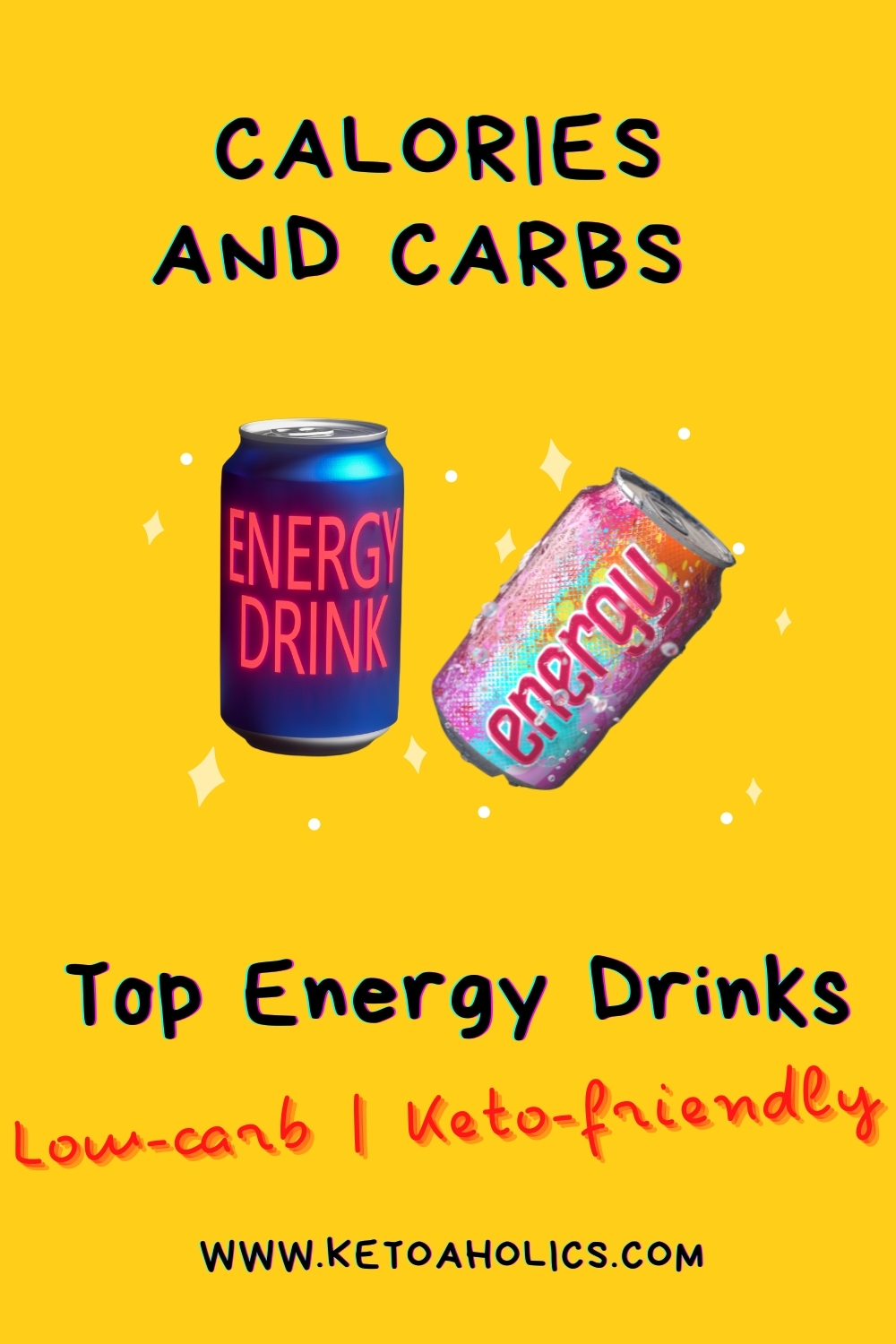 image of Top Energy Drinks Low Carb Keto Friendly