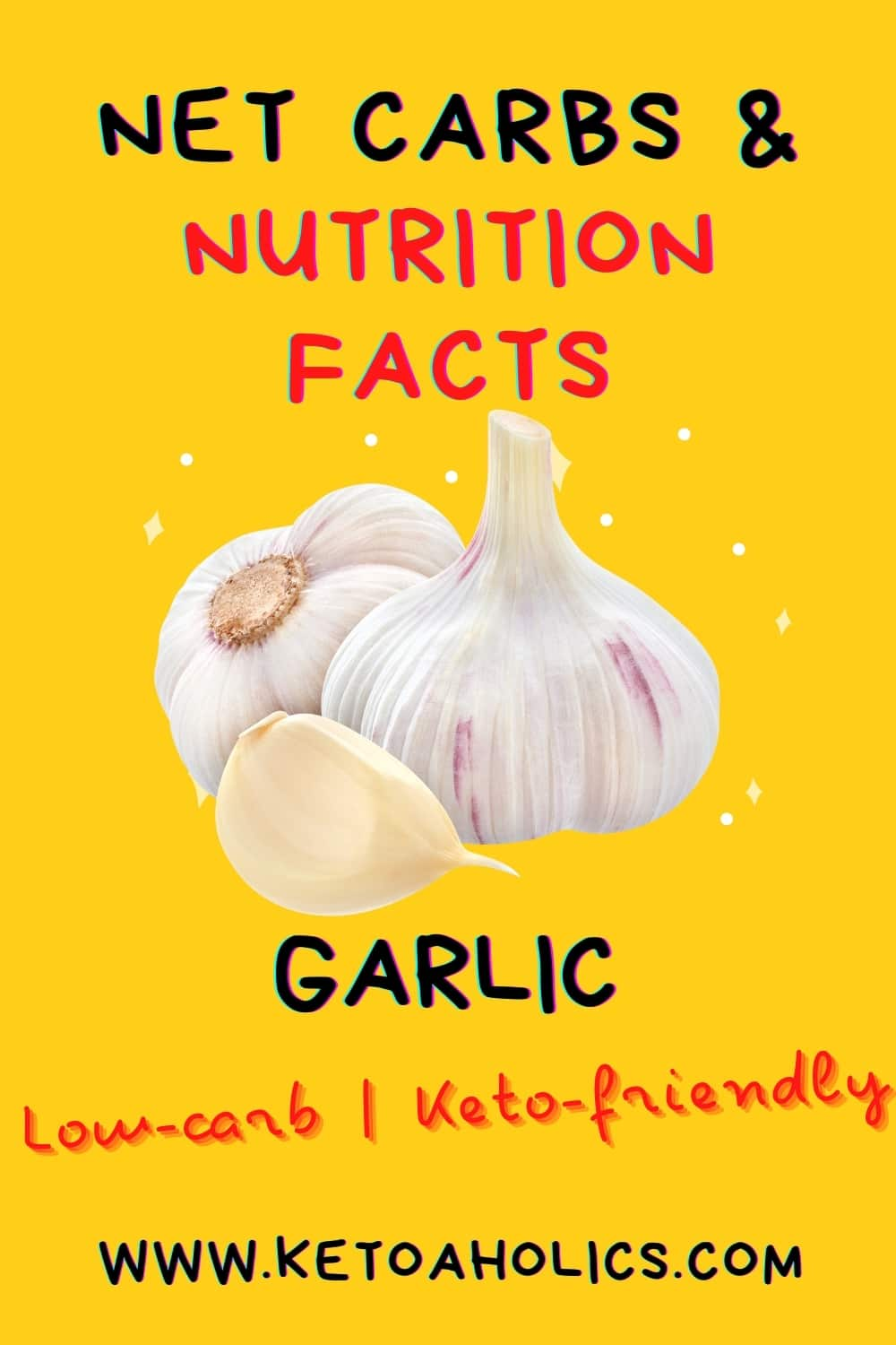 image of is garlic keto friendly or low carb